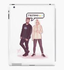 Agoney & Nerea - OT2017 iPad Case/Skin