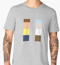 Minimalistic Rick And Morty Men's Premium T-Shirt
