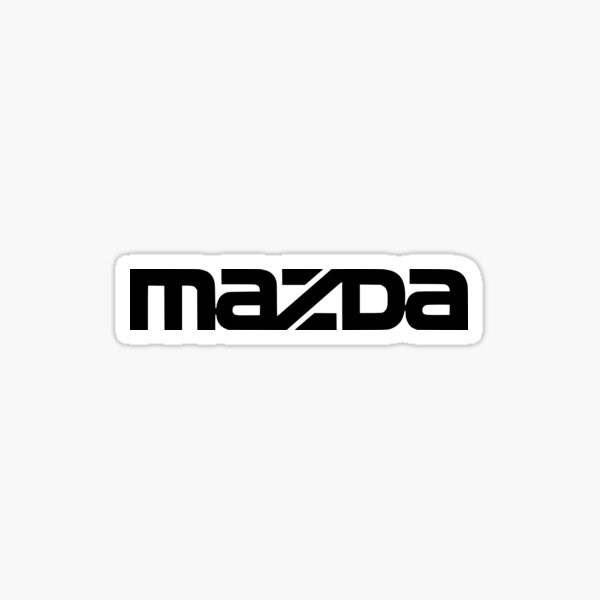 MAZDA LOGO Sticker