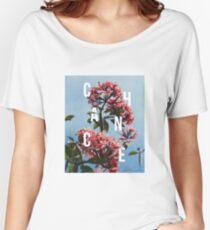 Chance the Rapper - Floral Shirt Design Women's Relaxed Fit T-Shirt