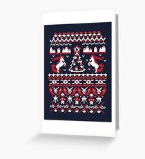 An Ugly Pokemon Christmas Greeting Card