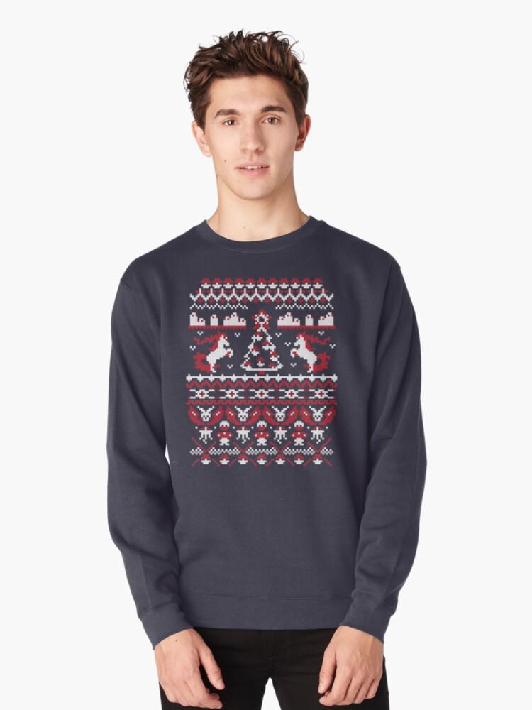 Pokemon Christmas Sweater.Una Fea Navidad De Pokemon Camiseta By Jen Pauker