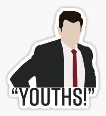 Youths! New Girl Sticker
