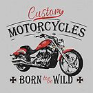 Custom Motorcycles - Born to be wild by NafetsNuarb