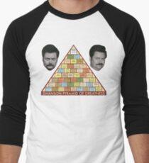 Camiseta ¾ estilo béisbol Pirámide de la grandeza de Swanson