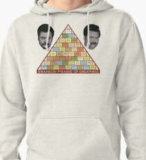 Swanson Pyramid of Greatness Pullover Hoodie