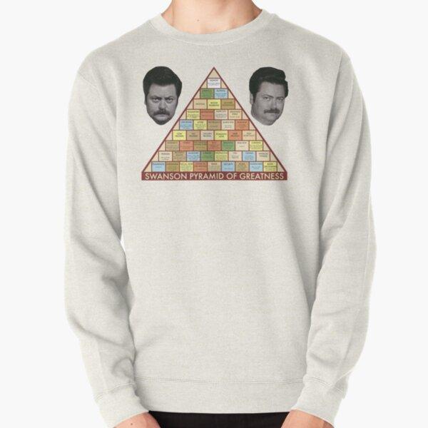 Swanson Pyramid of Greatness Pullover Sweatshirt