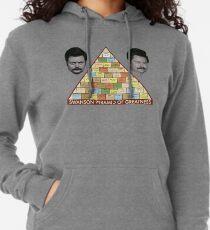 Sudadera con capucha ligera Pirámide de la grandeza de Swanson
