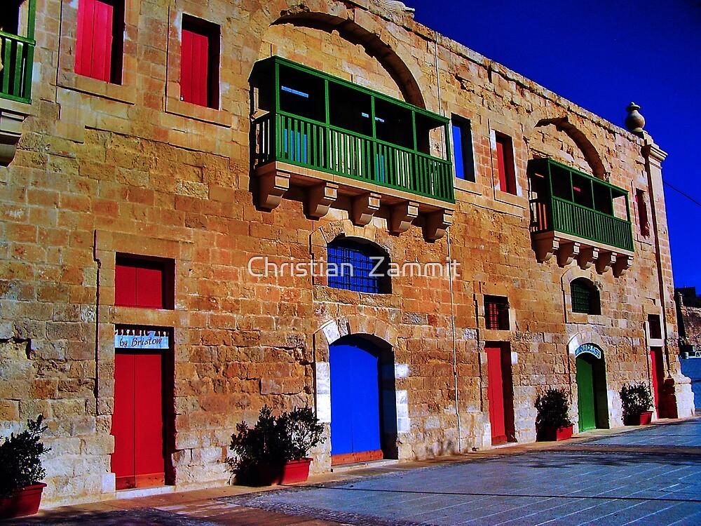 Valletta Waterfront by Christian  Zammit