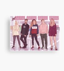 FRIENDS OT Canvas Print
