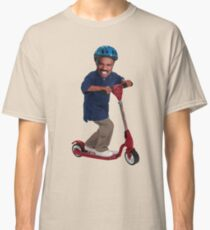 """""""This is Steve Harvey as a Five Year Old Riding a Scooter"""" Classic T-Shirt"""
