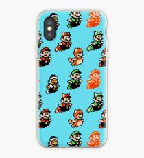 Super Mario Bros. 3 / Mario & Luigi / Fly iPhone Case