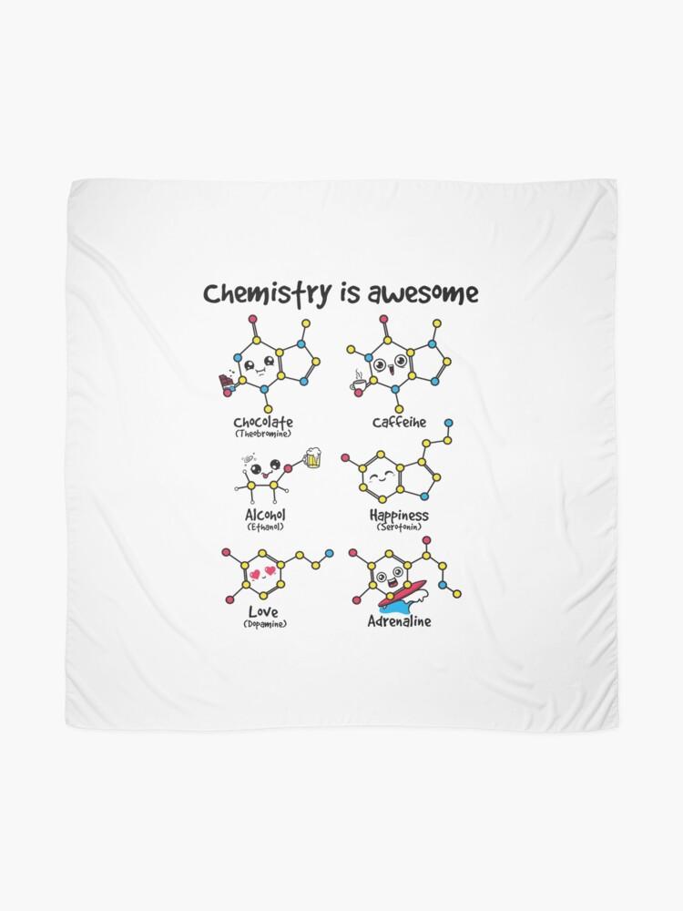 Alternative Ansicht von Chemie ist großartig Tuch