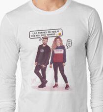 Agoney & Miriam - OT2017 Long Sleeve T-Shirt