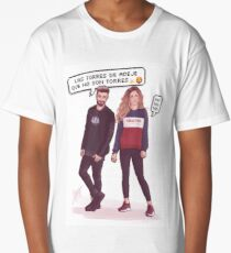 Agoney & Miriam - OT2017 Long T-Shirt