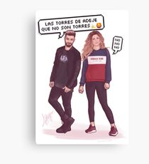 Agoney & Miriam - OT2017 Canvas Print