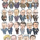 Prime Ministers of Canada by MacKaycartoons