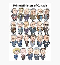 Prime Ministers of Canada Photographic Print