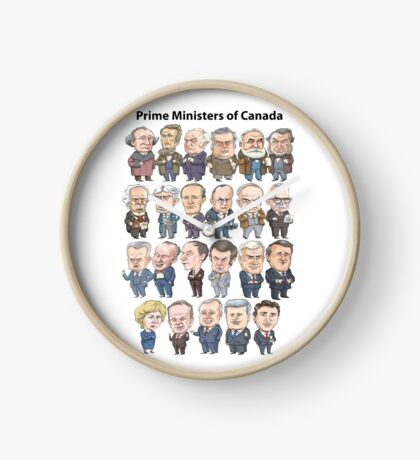 Prime Ministers of Canada Clock