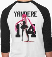 yandere Men's Baseball ¾ T-Shirt