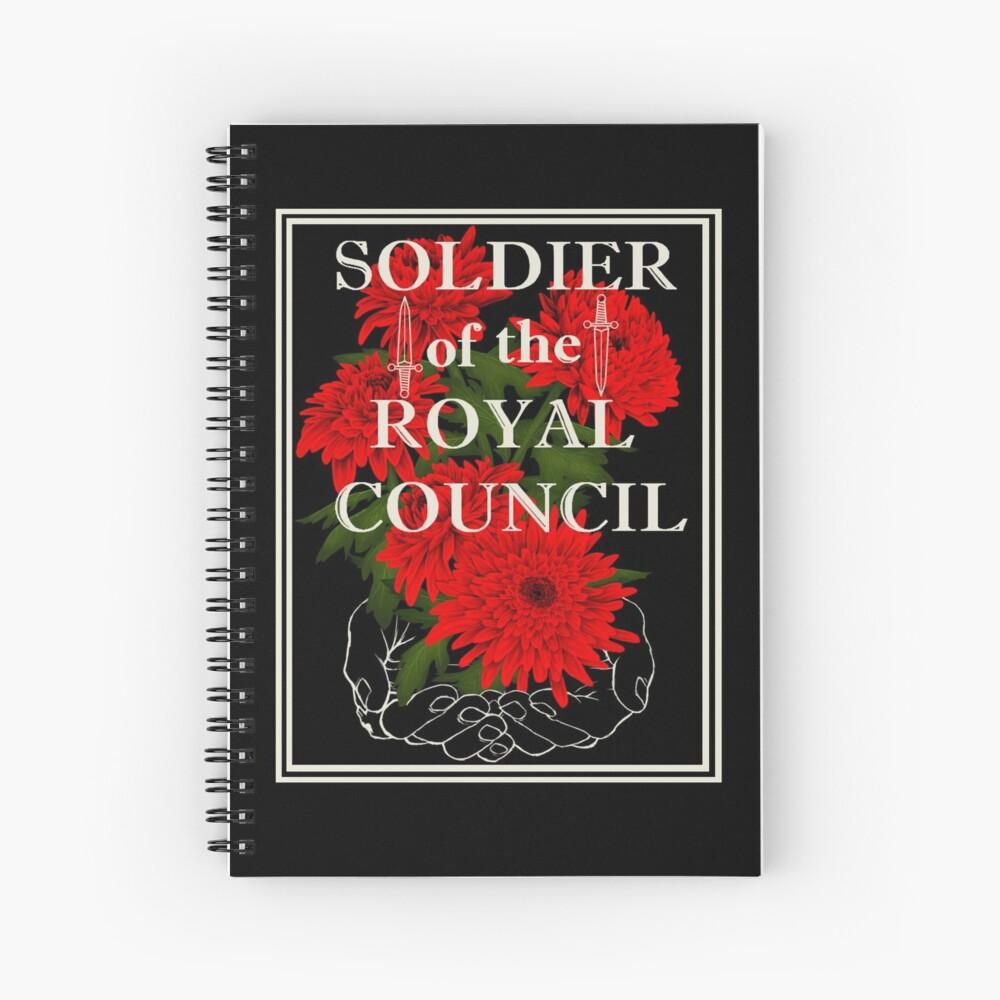 Palaye Royale Fan Design Spiral Notebook