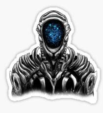 Lost In Space Robot (Original Blue) Sticker