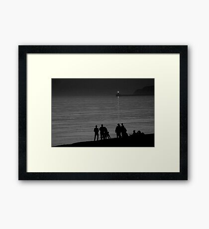 Seaford Tonight Framed Print