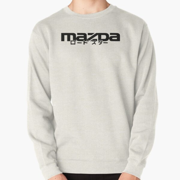 MAZDA WITH ROADSTER IN JAPANESE Pullover Sweatshirt