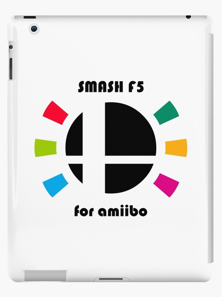 'Smash F5 for amiibo' iPad Case/Skin by davidjonesart