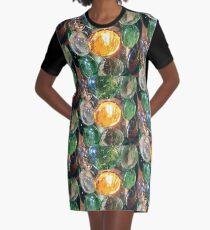 Lozenge Graphic T-Shirt Dress