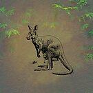 Kangaroo by David Dehner