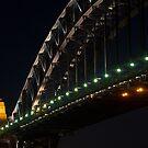 """Southern Arch .. Sydney Harbour Bridge"" by Darren Gray"