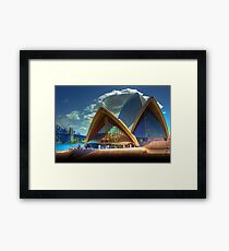 A Different View - The Sydney Opera House Framed Print