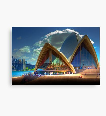 A Different View - The Sydney Opera House Canvas Print