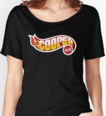 R58 Cooper Flames Women's Relaxed Fit T-Shirt