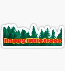 Happy Little Trees Sticker