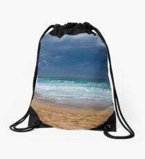 Ocean Beach Portsea..Victoria Drawstring Bag