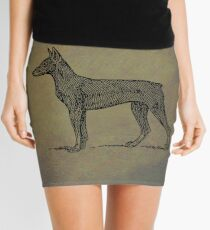 Doberman Mini Skirt