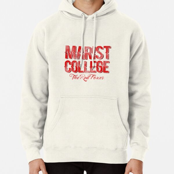 Marist college watercolor Pullover Hoodie