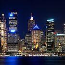 """Sydney City lights .. "" by Darren Gray"