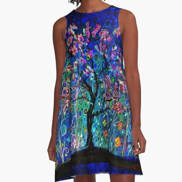 Night Spring A-Line Dress