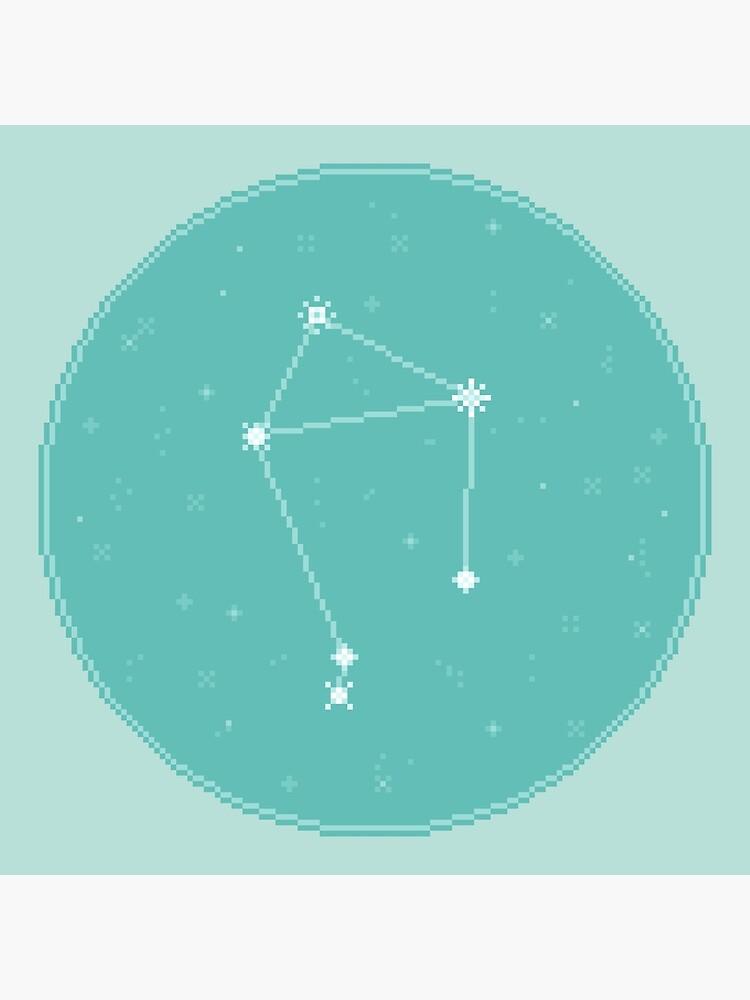 8bit Constellations:  Libra by sp8cebit