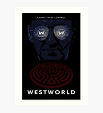 Westworld Show Poster Art Print
