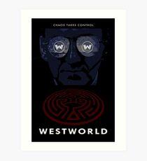 Westworld Show Poster Art Print