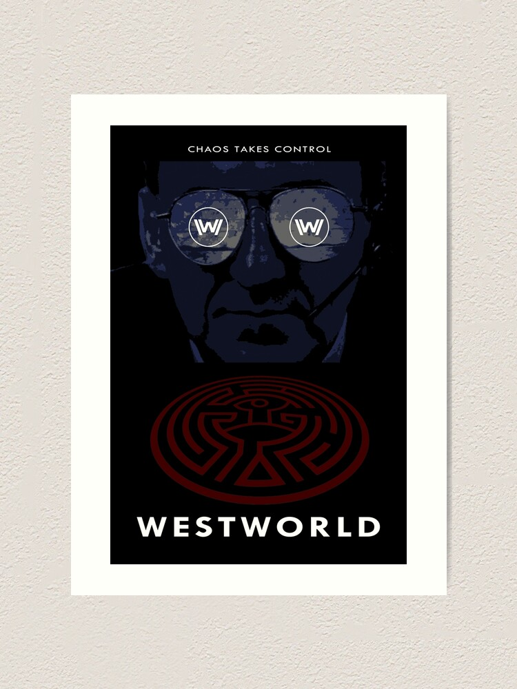 Alternate view of Westworld Show Poster Art Print