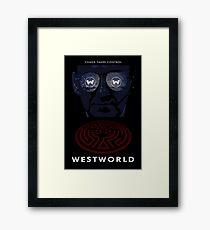 Westworld Show Poster Framed Print