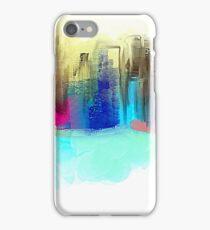 Colorful City Impressionism iPhone Case/Skin