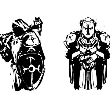 RPG Stickers - Holy Warriors by DSDigital