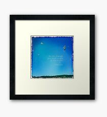 CELEBRATION OF LIFE - Graduation Framed Print