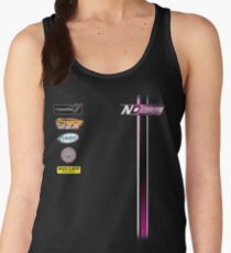 Nate Dean Racing Pit Shirt Women's Tank Top